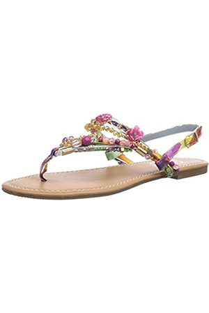 Womens 313560 JH4128 Flip Flop Sandles multi-coloured Mehrfarbig ( 97) Size: 4