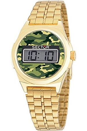 Sector No Limits Street Fashion Men's Quartz Watch with Dial Digital Display and Stainless Steel Strap R3253172004