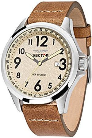 Sector Men's Analogue Quartz Watch with Leather Strap R3251180012