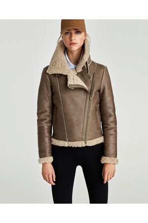 Buy Zara Leather Jackets For Women Online Fashiola Co Uk Compare