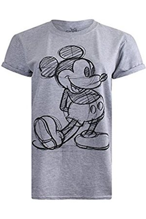 Disney MICKEY MOUSE - MICKEY SKETCH - LADIES T SHIRT SPORT - XLG