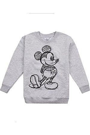 Disney Girl's Mickey Sketch Sweatshirt
