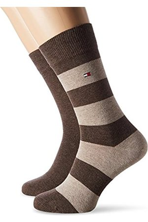 Tommy Hilfiger Men's TH Rugby 2P Socks