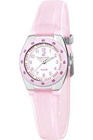 Calypso Women's Quartz Watch with Dial Analogue Display and Plastic Strap K6043/B