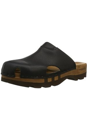 Woody Mens Lissabon Clogs And Mules Weiß (Sport Nappa Weiß) Size: 43