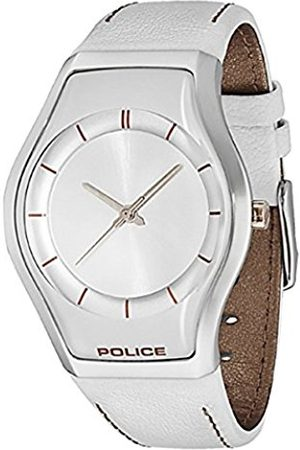 Police Sphere X Women's Quartz Watch with Dial Analogue Display and Leather Strap 12778MS/04A