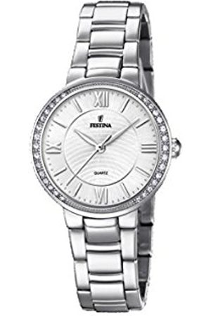 Festina Womens Analogue Classic Quartz Connected Wrist Watch with Stainless Steel Strap F20220/1