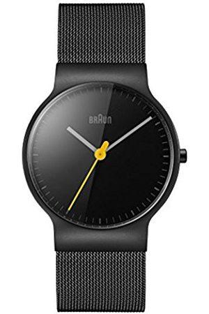 von Braun Women's Quartz Watch with Dial Analogue Display and Stainless Steel Strap BN0211BKMHL