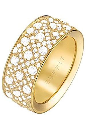 Esprit Women Brass Round White Zircon