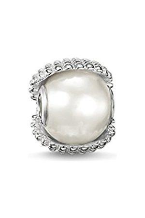 Thomas Sabo Women-Bead Ocean Treasure Karma Beads 925 Sterling Silver Freshwater Pearl K0151-082-14