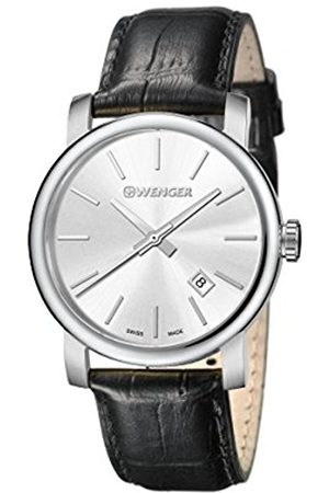 Wenger Men's Analogue Quartz Watch with Leather Strap 01.1041.122