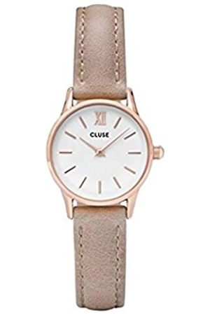 Cluse Women's Analogue Quartz Watch with Leather Strap CL50027