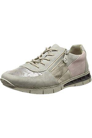 Womens Chaussures De Sport N1823 Bas-top, Gris, 3.5 Fr Rieker