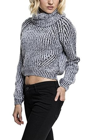 Urban classics S Women's Ladies Short Turtleneck Roll Collar Sweater