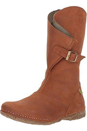 El Naturalista Women's N916 Pleasant Wood/Angkor Cowboy Boots