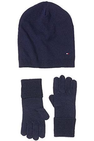 Tommy Hilfiger Women's New Odine Beanie Giftpack Scarf, Hat and Glove Set
