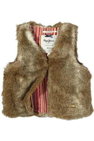 Pepe Jeans Girl's Sleeveless Waistcoat - (816 NATURAL) 16 Years
