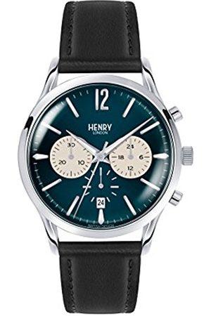 Henry Knightsbridge Chronograph Quartz Unisex Wrist Watch Leather HL41
