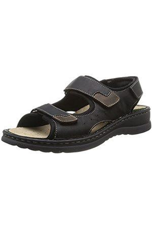 Rohde Men's Augsburg Fashion Sandals Schwarz (schwarz 90) Size: 12