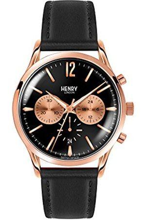 Henry Fred Perry 0042 Richmond Unisex Quartz Watch with Chronograph Quartz Leather HL41