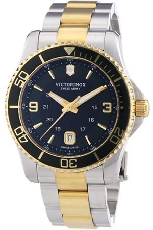 Victorinox Swiss Army Men's Quartz Watch Analogue Display and Stainless Steel Strap 241605