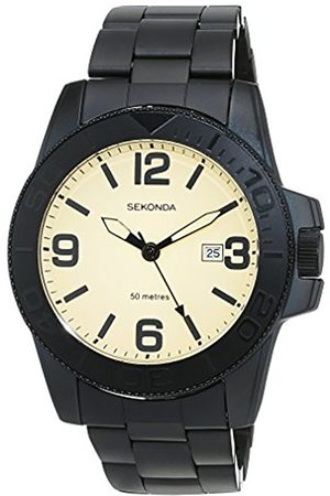 Sekonda Unisex-Adult Analogue Classic Quartz Watch with Stainless Steel Strap 1390.27