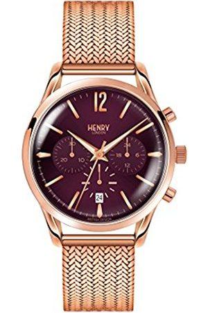 Henry Unisex Watch Hampstead Chronograph Quartz Stainless Steel HL39 cm 0088