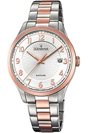 Candino Mens Analogue Classic Quartz Watch with Stainless Steel Strap C4609/1