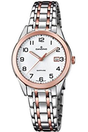 Candino Womens Analogue Classic Quartz Watch with Stainless Steel Strap C4617/1