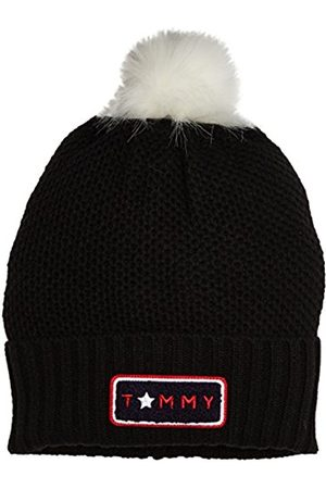 Womens Stars Beanie Holiday Giftpack Scarf, Hat and Glove Set, Blue (Tommy Navy 413), One Size Tommy Hilfiger