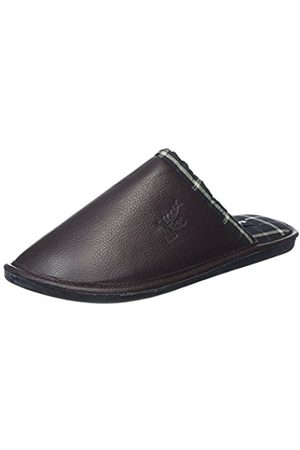 Lotus Men's Avington Open Back Slippers