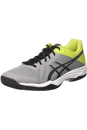 Asics Men's Gel-Tactic Volleyball Shoes, Multicolore (Aluminum/Dark /Energy )