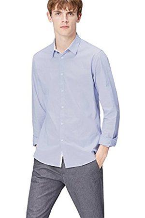 Men's Textured Cotton Slim Fit Shirt