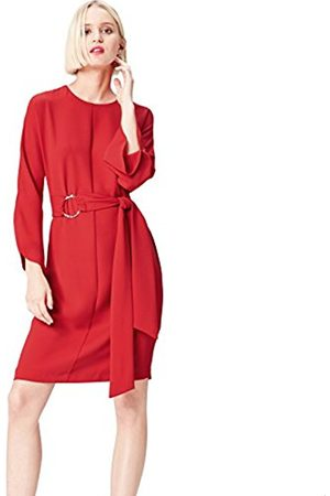 Women's Belted Shift Party Dress