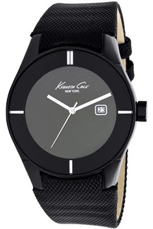 Kenneth Cole Men's Quartz Watch with Dial Analogue Display and Leather Strap KC1713