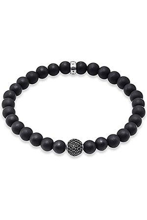 Thomas Sabo Men Silver Stretch Bracelet - A1353-705-11-L20