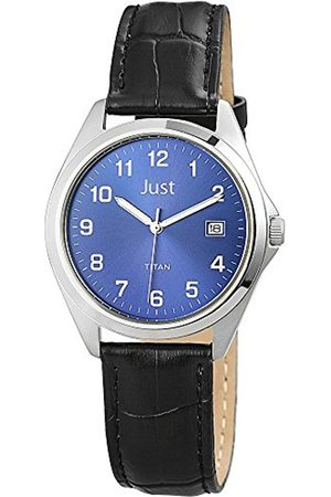 Just Watches Men's Quartz Watch 48-S11008-BL with Leather Strap