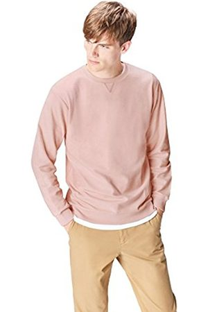 Men's Textured Crew Neck Sweatshirt