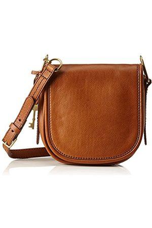 Fossil Rumi, Women's Cross-Body Bag, Braun (Saddle)
