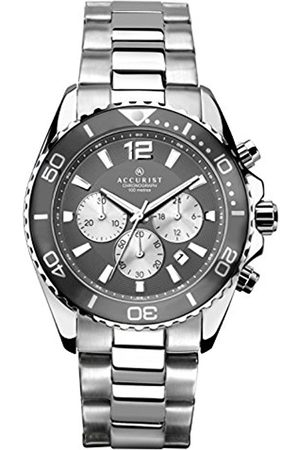 Accurist Men's Quartz Watch with Dial Chronograph Display and Stainless Steel Bracelet 7207