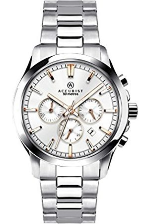 Accurist Men's Quartz Watch with Dial Chronograph Display and Stainless Steel Bracelet 7204