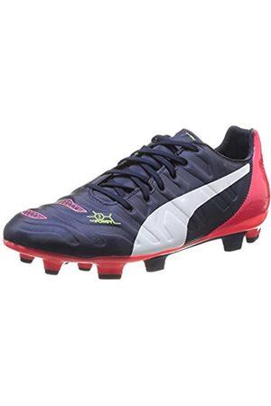 Puma Mens evoPOWER 3.2 FG Football boots (training) Blau (peacoat- -bright plasma 01) Size: 7.5