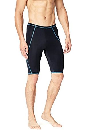 Men's Piping Detail Speed Stretch fit Swim Shorts