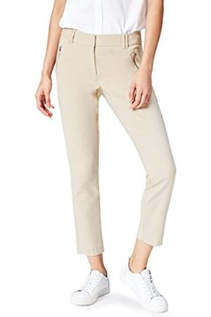 Women's Cropped Zip Detail Skinny Trousers