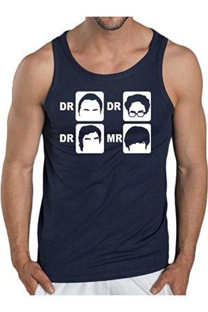 Touchlines Dr. Dr. Dr. Mr. Men's Tank Top navy Size:S