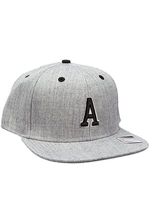 MSTRDS Letter Snapback A Baseball Cap, -Grau (A 1180,4616)
