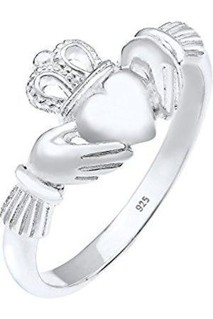 Elli Claddagh Heart Cut Women's Ring Heart 925 Sterling – 0608862715