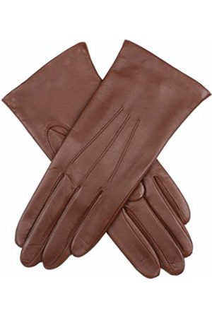 Dents Women's Warm Lined Leather Glove (Chestnut) 7 UK