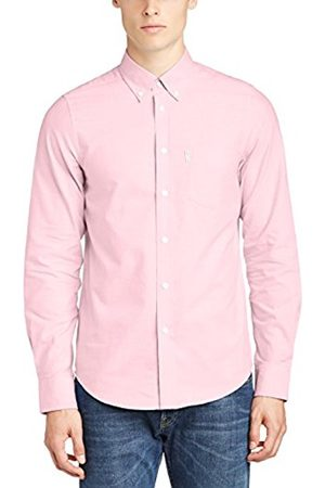 Ben Sherman Men's MA10111 2 Finger, Classic Oxford Regular Fit Button Down Long Sleeve Casual Shirt