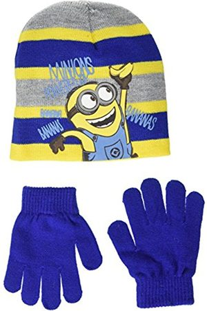 Boys Gloves - Boy's Minion Powered by Banana Hat and Glove Set